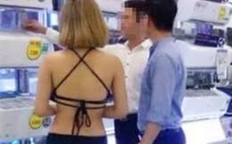 Phạt siêu thị 40 triệu đồng vụ 'mặc bikini bán hàng'