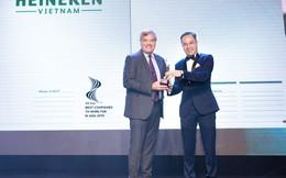 Heineken Việt Nam được vinh danh là nơi làm việc tốt nhất châu Á 2019