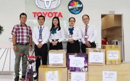 Nhiều vật phẩm được đại lý Toyota Việt Nam trao tặng Mottainai 2019