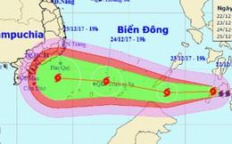 """TPHCM và Nam bộ """"nín thở"""" chờ bão Tembin"""