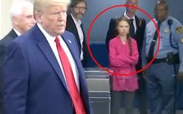 Greta Thurnberg bị chặn để nhường đường cho Tổng thống Trump