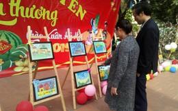 Nghệ An: Triển lãm tranh thiện nguyện giúp đỡ em học sinh có hoàn cảnh đặc biệt