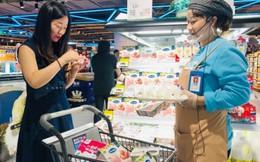 Sữa chua vinamilk có mặt tại siêu thị thông minh Hema của Trung Quốc