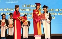 Hàng ngàn sinh viên ĐH Luật TP.HCM hoang mang trước Lễ tốt nghiệp