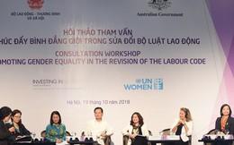 4 vấn đề cần hoàn thiện để thúc đẩy bình đẳng giới trong Bộ luật Lao động