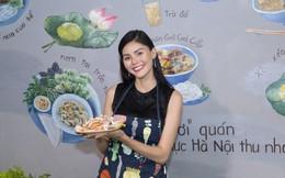 Hoa hậu châu Á Kim Nguyên vào bếp làm 'món tủ' chân gà muối