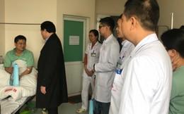 Ấm tình người ngày cuối năm tại bệnh viện Thể thao Việt Nam