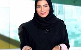 Nữ MC thời sự đầu tiên trên sóng truyền hình quốc gia Saudi Arabia
