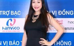 Ngô Phương Lan 'vác' bụng bầu 3 tháng chấm thi Hoa hậu Bản sắc Việt