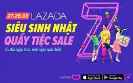 Lazada dành khoản khuyến mãi trị giá 7 tỷ đồng tổ chức 'siêu sinh nhật'