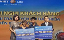 Bảo Việt Nhân thọ chi trả 8,4 tỷ đồng quyền lợi bảo hiểm cho khách hàng gặp rủi ro