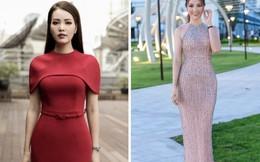 2 phong cách thời trang đối lập của Á hậu Thụy Vân