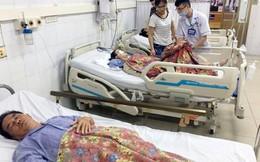 1 nạn nhân nữ tử vong vụ xe khách đâm hàng loạt xe máy ở Quảng Ninh