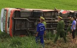Nghệ An: Tai nạn xe buýt kinh hoàng, 2 người tử vong, 8 bị thương nặng