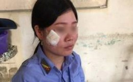 Nữ nhân viên gác đường tàu bị côn đồ hành hung