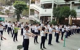 TPHCM: Học sinh cấp 3 phải tập thể dục giữa giờ