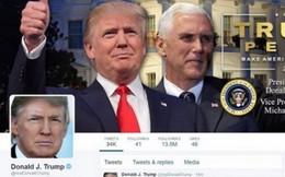 Ông Trump lập trang web và tài khoản Twitter mới