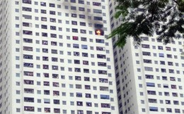 Nguyên nhân khiến căn hộ tầng 32 khu HH Linh Đàm bốc cháy