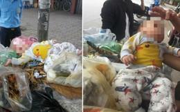 Hà Nội: Bé trai 8 tháng tuổi bị bỏ trên xe rác gây phẫn nộ