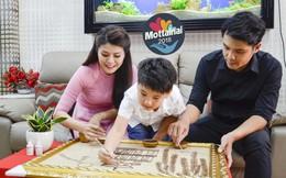 Các gia đình hào hứng làm tranh gạo góp phần lan tỏa thông điệp Mottainai 2018