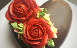 Công thức làm hoa chocolate