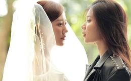 Văn Mai Hương hôn đắm đuối Đồng Ánh Quỳnh trong MV mới