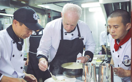 'Đầu bếp ngôi sao' nước Anh đến Việt Nam trổ tài ẩm thực
