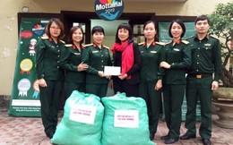 Hội Phụ nữ Cục Nhà trường trao yêu thương đến Mottainai