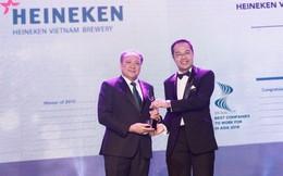 Heineken Việt Nam nhận giải thưởng 'Doanh nghiệp có môi trường làm việc tốt nhất châu Á'