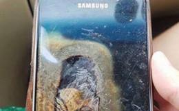 Tá hỏa vì điện thoại Samsung phát nổ trên ôtô