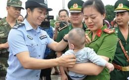 Quảng Ninh tiếp nhận 1 bé trai bị lừa bán sang Trung Quốc
