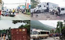 'Hung thần' container và những vụ tai nạn kinh hoàng