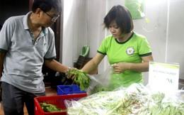 Phiên chợ xanh có mặt trong hội chợ hàng Việt Nam chất lượng cao