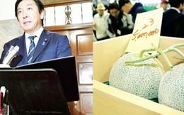 Hai bộ trưởng Nhật Bản mất chức vì tặng cử tri dưa, xoài