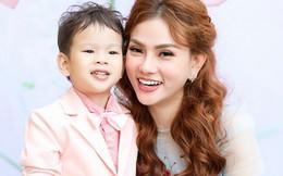 Quà sinh nhật đặc biệt mẹ đơn thân Thu Thủy tặng con trai 3 tuổi