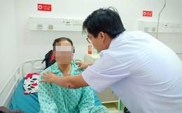 Cắt tuyến giáp không để sẹo bằng phẫu thuật nội soi qua miệng