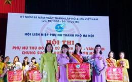 'Phụ nữ Thủ đô ứng xử thanh lịch, văn minh chung sức xây dựng nông thôn mới'