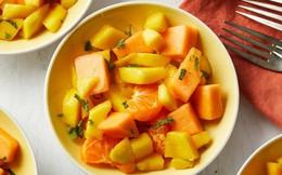 Làm salad trái cây ngon miệng, thanh mát ngày hè