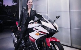 MC Nguyễn Cao Kỳ Duyên kể chuyện 7 tháng mới lấy được bằng lái môtô