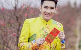 Quang Hà khoe bộ áo dài xuân trị giá 500 triệu đồng trên cánh đồng hoa