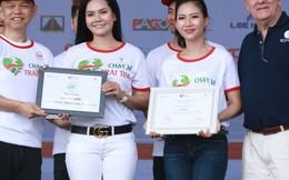 Lương Nguyệt Anh, MC Mỹ Vân tham gia chạy vì trẻ em bệnh tim