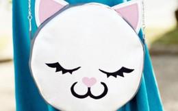 Khéo tay làm túi đeo hình mèo dễ thương