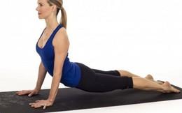 4 bài tập yoga giải tỏa cơn 'bốc hỏa'