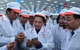 Chủ tịch Quốc hội Nguyễn Thị Kim Ngân thăm khu công nghệ cao Hòa Lạc