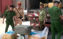 Phát hiện 10 tấn nầm lợn thối chuyển từ Lạng Sơn vào Nam tiêu thụ