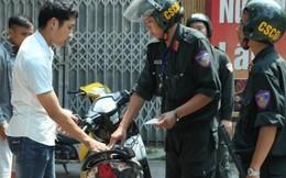 Hà Nội tăng cường xử phạt xe lạng lách đánh võng