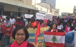 Liên đoàn Phụ nữ Dân chủ Quốc tế thúc đẩy Bình đẳng giới, Hoà bình và Công bằng cho mọi người