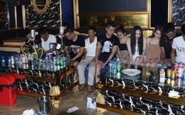 Bắt quả tang ổ nhóm nam nữ 'mở tiệc' ma túy tập thể trong quán karaoke