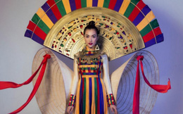 Hồn Việt là trang phục dân tộc của Việt Nam tại Miss Universe 2017