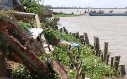 Đồng Tháp cần di dời hơn 6.000 hộ dân ở vùng sạt lở bờ sông nguy hiểm